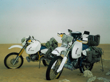Suzui DR with 50l tank