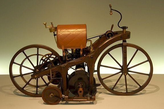Daimler Reitwagen replica