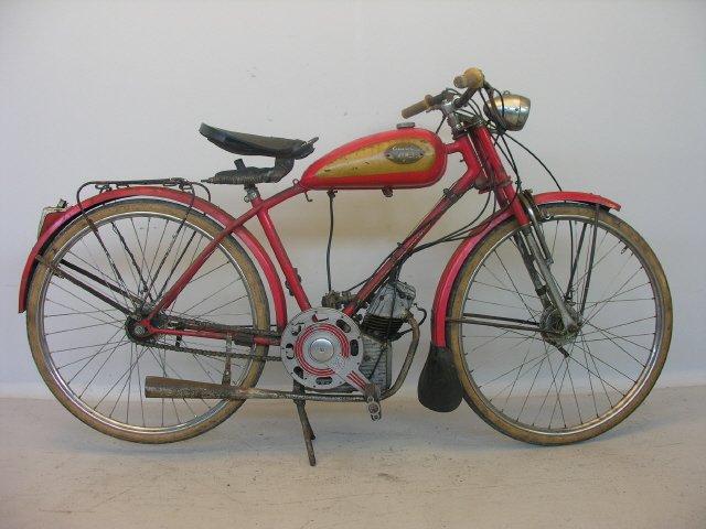 Ducati Vilar Cucciolo 1950
