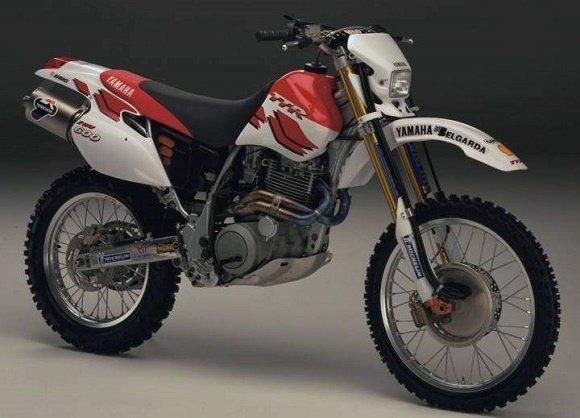 Yamaha TT600E 2WD