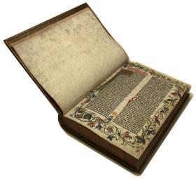Gutenberg Bible copyright British Library Board