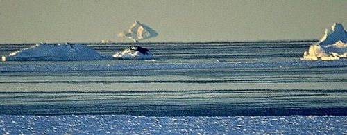 Mirage of iceberg