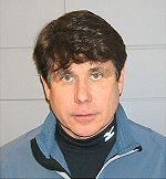 Rod Blagojevich arrest mug shot