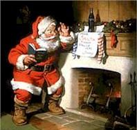 Santa Claus de la Coca Cola
