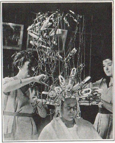 Karl Nessler hair dryer