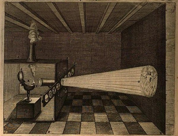 optic-projection-by-athanasius-kircher-1671