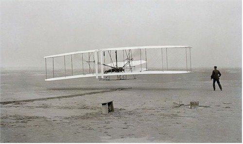 Orville Wright's first flight