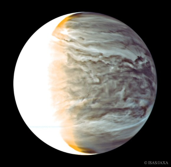 Venus photo by JAXA