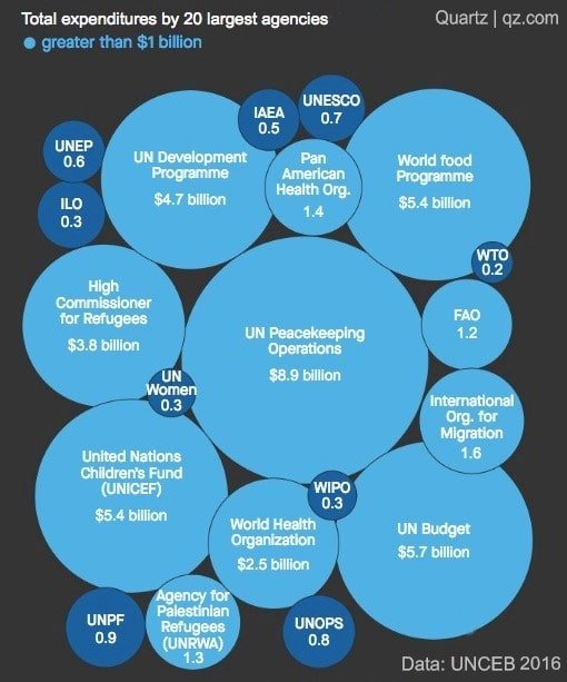 World Health Organization and UN budgets